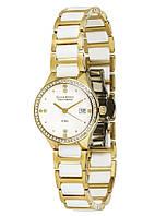 Часы женские Guardo S00579-2 золотые
