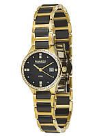 Часы женские Guardo S00579-3 золотые