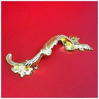 Ручка фигурная золото,90х20 мм