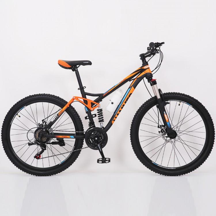Спортивный велосипед на 26 дюймов  HAMMER ACTIVE 26-S211 металлическая рама 17 дюймов