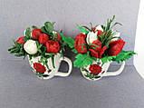 Букет з мильних кольорів тюльпанів Квіткова композиція з мила ручної роботи Мильний букет, фото 3