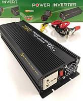 Преобразователь напряжения (инвертор) UKC RCP-2000Вт DC/AC 12В-220В, выход USB 5В. Повышенная надежность., фото 1
