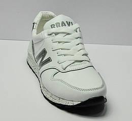 Кроссовки демисезонные белого цвета N, BRAVIA