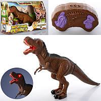 Динозавр RS6133 (18шт) р/у,53см,звук,свет,ходит,двиг.головой,на бат-ке,в кор-ке,50,5-30,5-12см