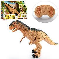 Динозавр RS6131 (18шт) 45-28см, р/у, ходит, двигает головой,зв,св,на бат-ке,в кор-ке, 51,5-30,5-12см