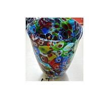 Декор 17-67 (24шт)ваза для цветов, 14,5см, стекло, 2вида, в кор-ке, 10-15-11см