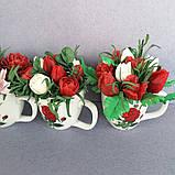 Букет з мильних кольорів тюльпанів Квіткова композиція з мила ручної роботи Мильний букет, фото 2