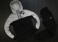 Легкий весенний спортивный костюм Nike (найк), мужской реплика