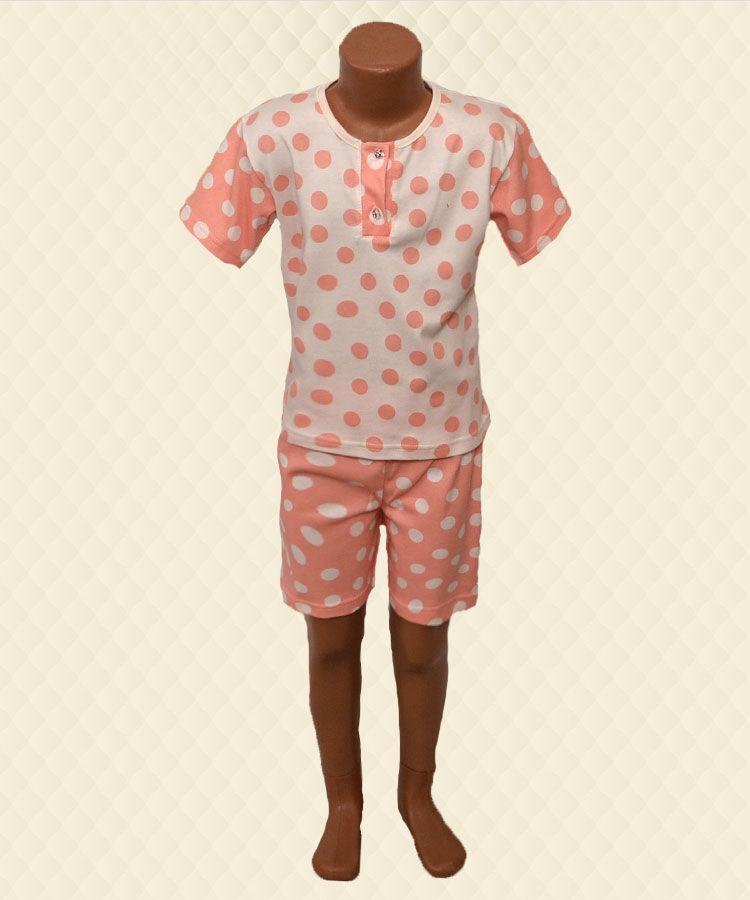 Комплект детский футболка шорты интерлок
