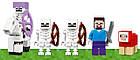 Lego Minecraft Нападение армии скелетов 21146, фото 9