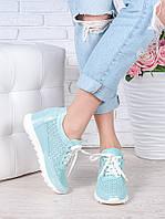 Сникерсы -туфли на высокой подошве 7043-28