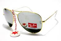 Солнцезащитные очки стекло Ray Ban (копия) 3028 B3 SM