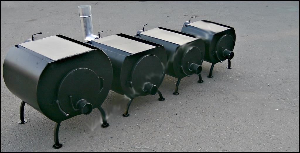 Печь дровяная ПД-60 (6,5 кВт)