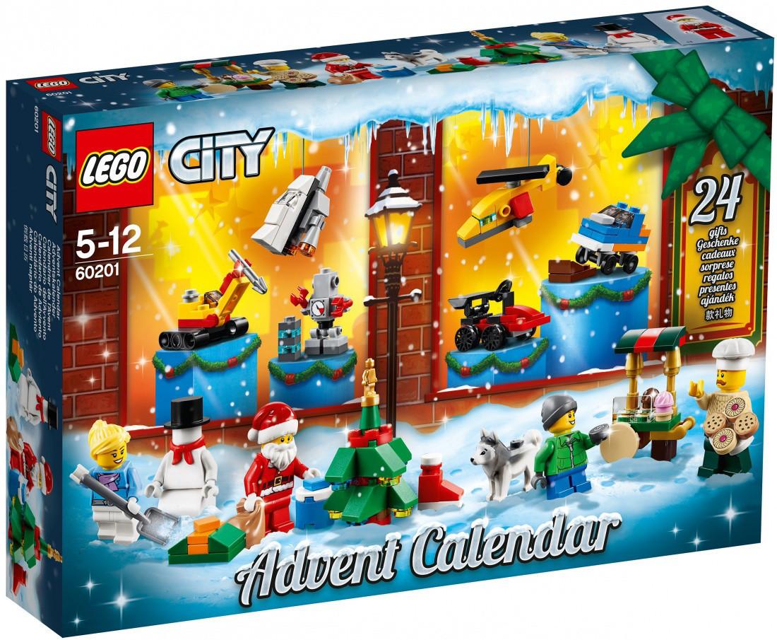 Lego City Новогодний календарь City 60201