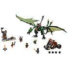 Lego Ninjago Зелёный Дракон NRG 70593, фото 3