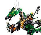 Lego Ninjago Зелёный Дракон NRG 70593, фото 5