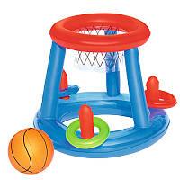 BW Игровой центр 52190  баскетбол,мяч,кольца,ремкомплект,в кор-ке