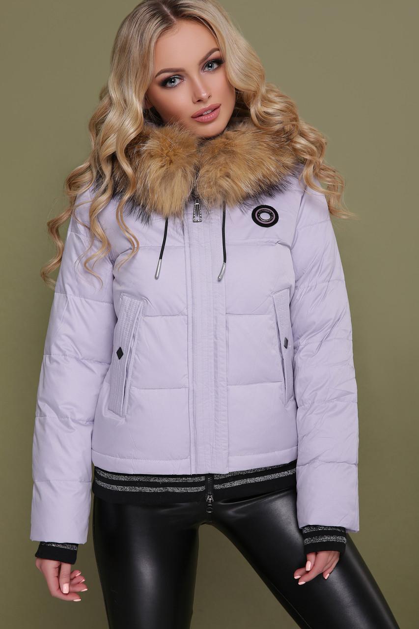 Зимняя куртка женская короткая 18-132