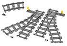 LEGO City Железнодорожные стрелки 7895, фото 4