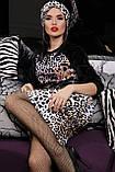 Облегающая юбка с леопардовым принтом, фото 4