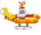 LEGO Ideas The Beatles: Жёлтая подводная лодка 21306, фото 4