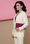 Пиджак женский ванильный Патрик, фото 3