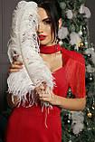 Вечернее платье в пол красное Альфия, фото 6