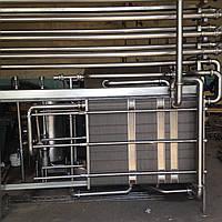 Пастеризационно-охладительная установка