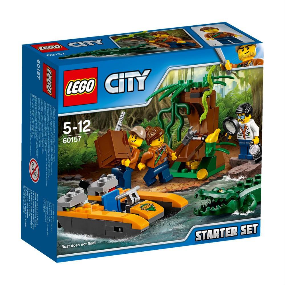 Lego City Джунгли: Набор для начинающих 60157