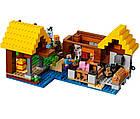 Lego Minecraft Фермерський котедж 21144, фото 5
