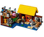 Lego Minecraft Фермерский коттедж 21144, фото 6