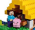 Lego Minecraft Фермерський котедж 21144, фото 9