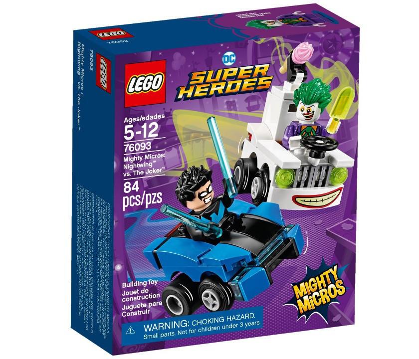 Lego Super Heroes Найтвинг против Джокера 76093