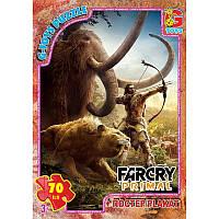 """FCP01 Пазли ТМ """"G-Toys"""" із серії """"Far Cry. Тваринний світ"""", 70 ел."""