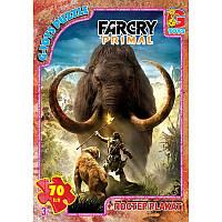 """FCP03 Пазли ТМ """"G-Toys"""" із серії """"Far Cry. Тваринний світ"""", 70 ел."""