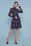 Платье синее с принтом Эльнара, фото 3