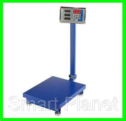 Торговые Весы до 350кг на Аккумуляторе с Металлической Головой Электронные, фото 2