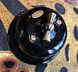 Ретро выключатель фарфоровый  поворотный  1-клавишный проходной  черный, фурнитура дерево, бронза, хром, фото 10