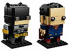 Lego BrickHeadz Тактический Бэтмен и Супермен 41610, фото 3
