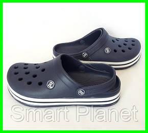 Мужские Тапочки CROCS Синие Кроксы (размеры: 44), фото 2