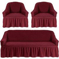 Комплект чехлов для мебели пурпурный 37 Love you