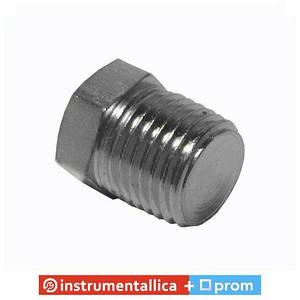 Фитинг заглушка с наружной резьбой 1/4 PT-1870 Intertool