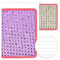 Блокнот с блестками А5 80л ST01212