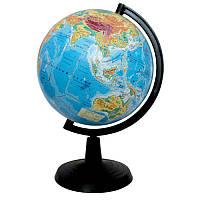 Глобус 22 см фізичний