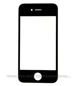Стекло Apple Lens iPhone 4 black h/c