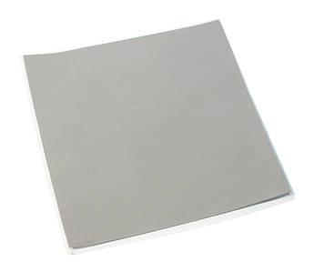 Термопрокладка 2.0 Вт/мК, HY-100, 100x100x1mm, Gray, >2,0 W/m-K, -40°?240°, питома вага -2g/см3, OEM Q100