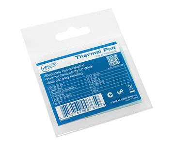 Термопрокладка Arctic Thermal Pad, 6 Вт/мК, товщина 0,5 мм, розмір 5 х 5 см (ACTPD00001A)