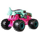 Hot Wheels Monster Jam Внедорожник джип зомби Рекс 1:24 Scale GCX24 Zombie Wrex Trucks Vehicle, фото 3