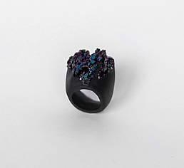Женское кольцо PLAXA c ковеллином 16.5 размер (PL1004)