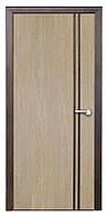 Дверь межкомнатная Вена ПГ (тик, карпатская  ель)